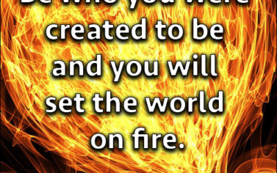Set the World on Fire!